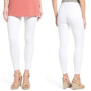 SPANX White Jean-ish® Ankle Leggings
